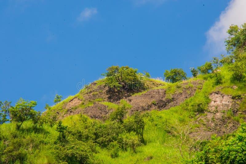 Падения Patal, ландшафты реки Sapang стоковое фото