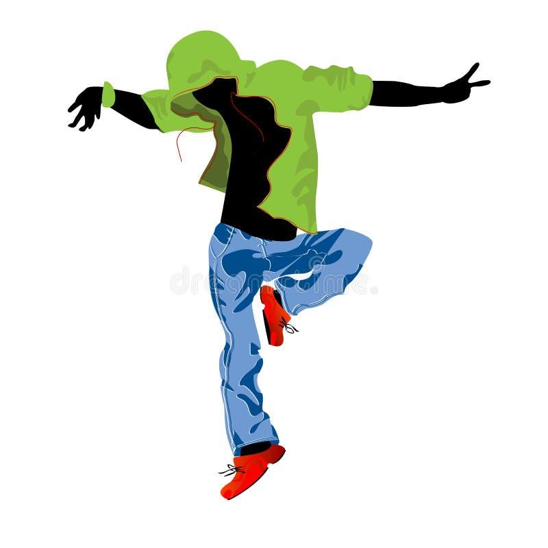 паз танцора иллюстрация вектора