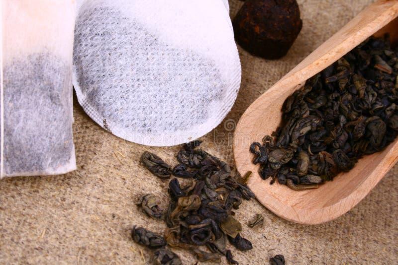 пакетик чая стоковые фото