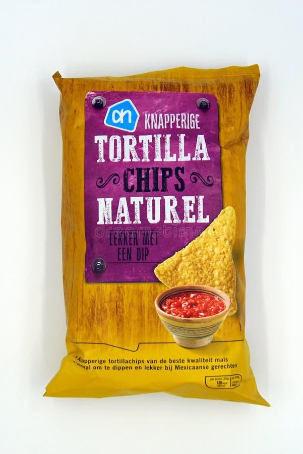 Пакет АХ naturel обломоков Tortilla стоковое изображение rf