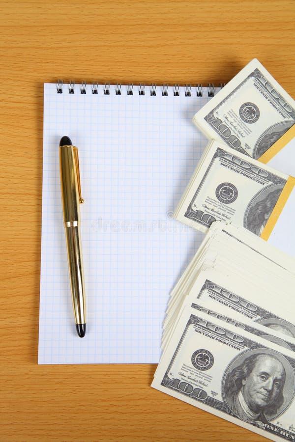 Пакет кредиток и тетради стоковая фотография rf