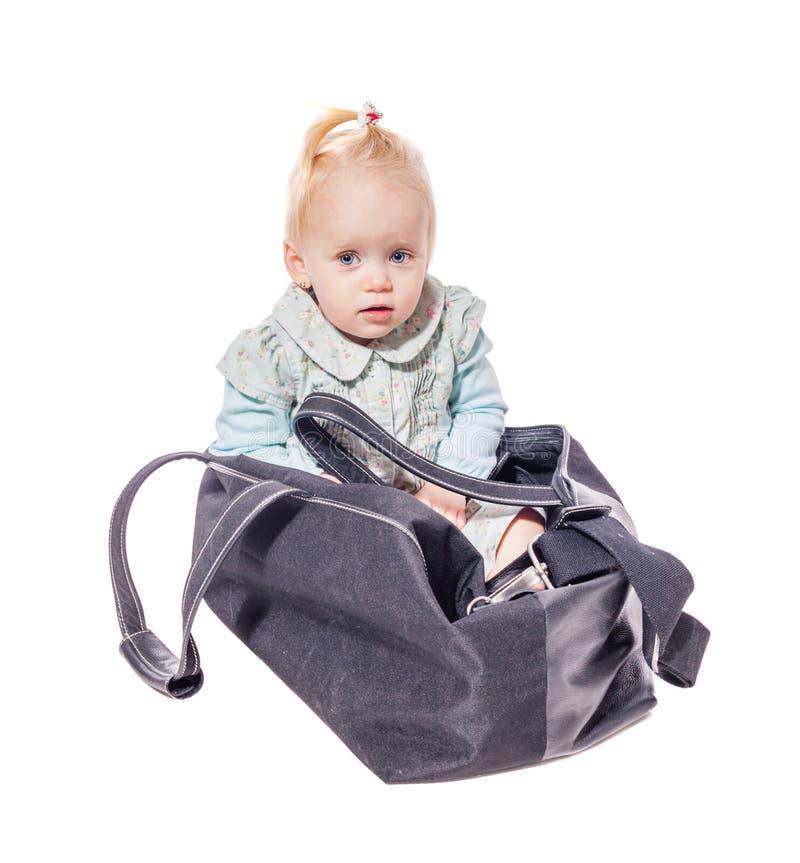 Пакет с ребенк стоковое фото rf