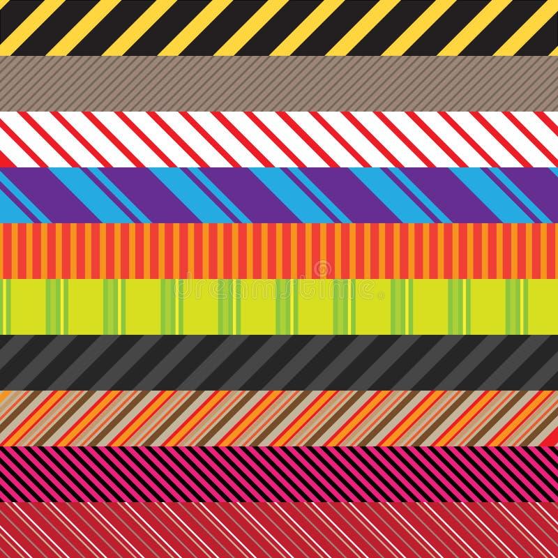 пакет stripes разнообразие иллюстрация штока