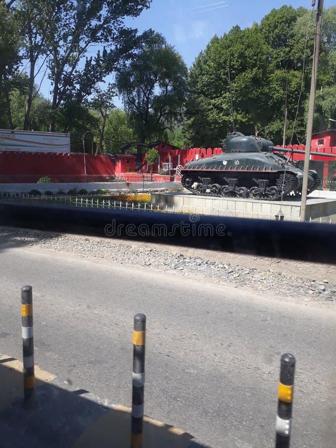 Пакистанский танк стоковая фотография