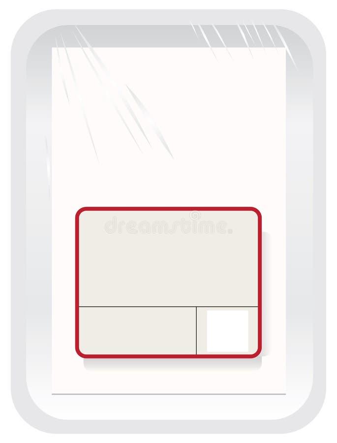 Паковать с полиэтиленовой пленкой бесплатная иллюстрация