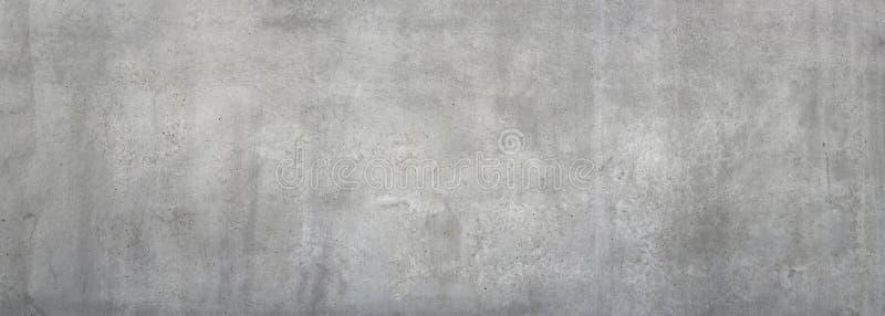 Пакостная серая бетонная стена стоковое фото rf