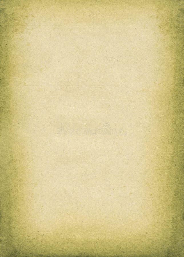 пакостная старая бумажная часть стоковые изображения