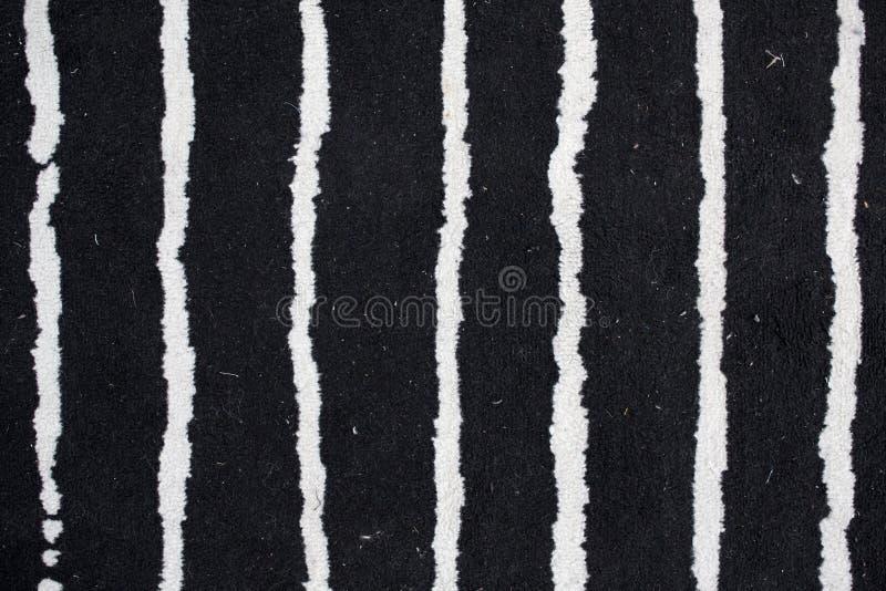 Пакостная текстура ковра, черно-белая стоковые изображения