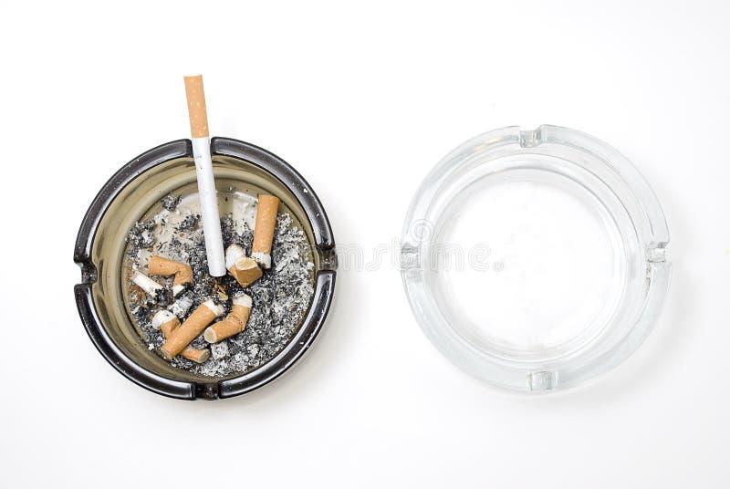 пакостное ashtray чистое стоковое фото rf