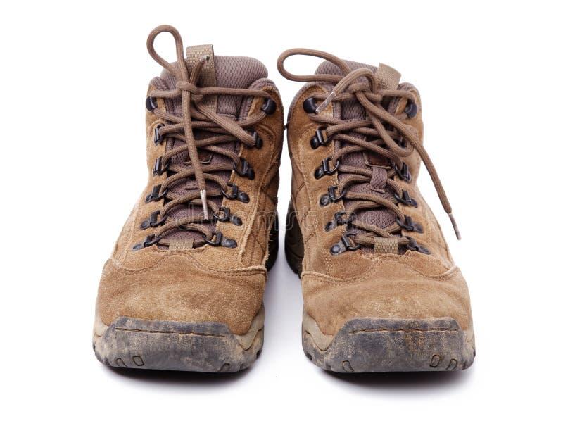 пакостные ботинки стоковое изображение rf