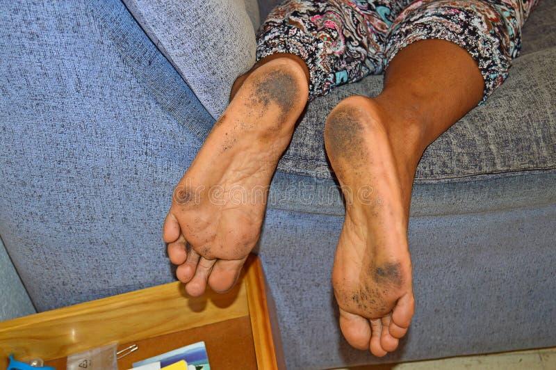 пакостные ноги стоковые изображения rf