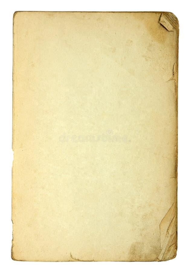 пакостные старые бумажные листы стоковые фотографии rf