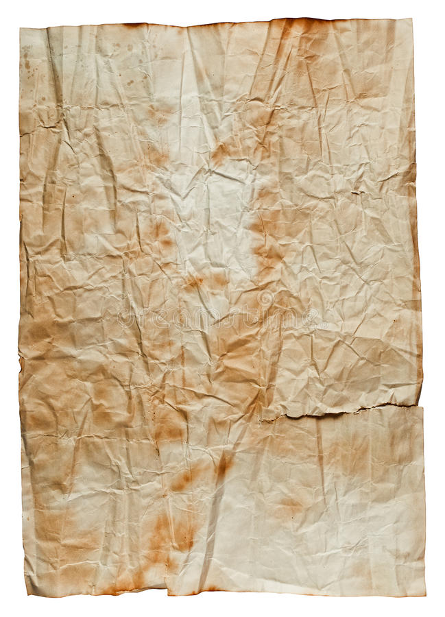пакостный старый бумажный плакат стоковое фото