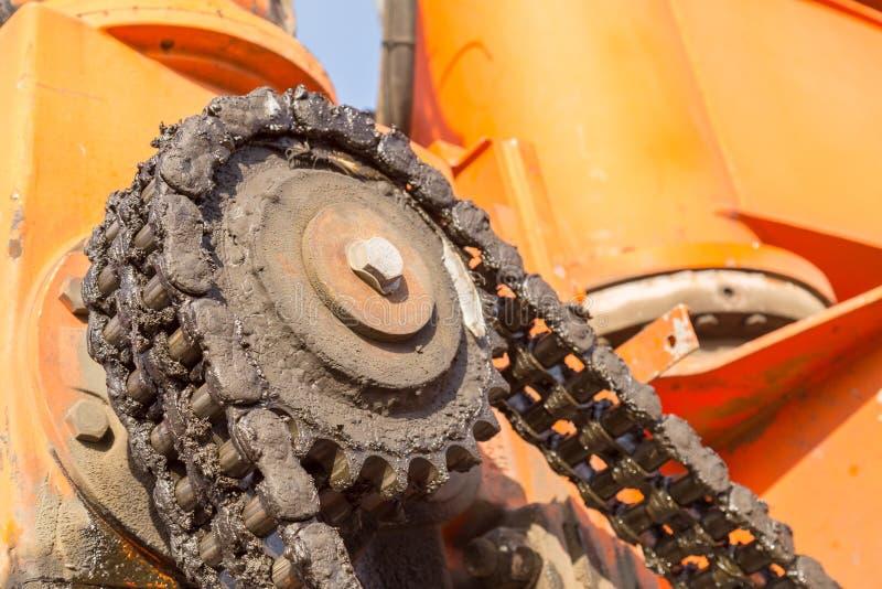 Пакостный Cogwheel стоковое фото
