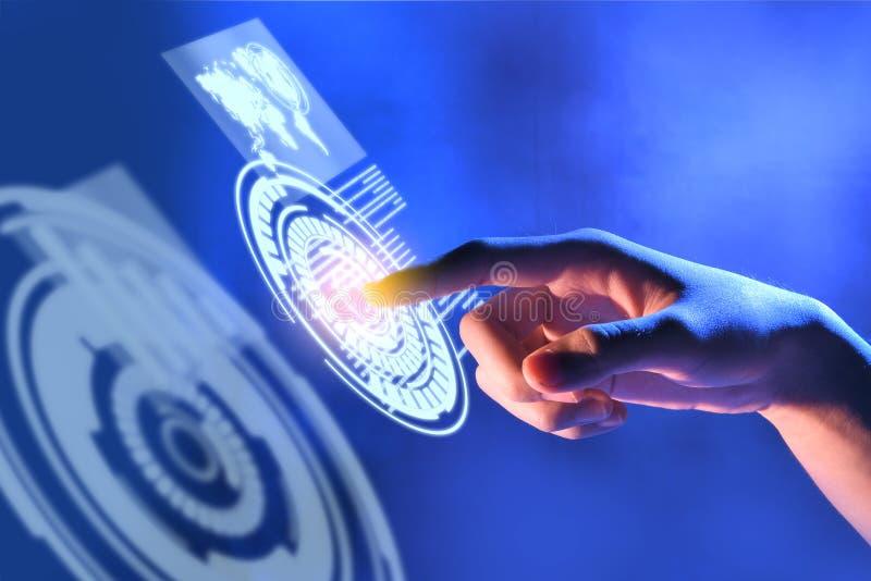 Концепция цифровой технологии стоковое изображение rf