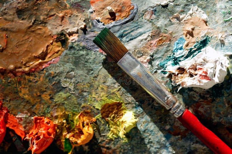 палитра цвета искусства стоковое изображение rf