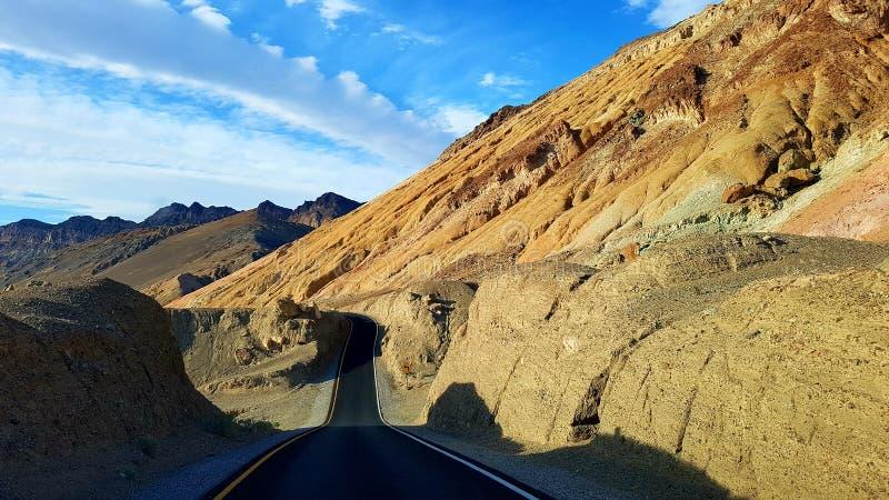 Палитра Death Valley ` s художника стоковая фотография