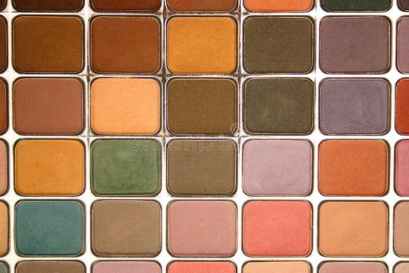 палитра eyeshadow стоковые фотографии rf