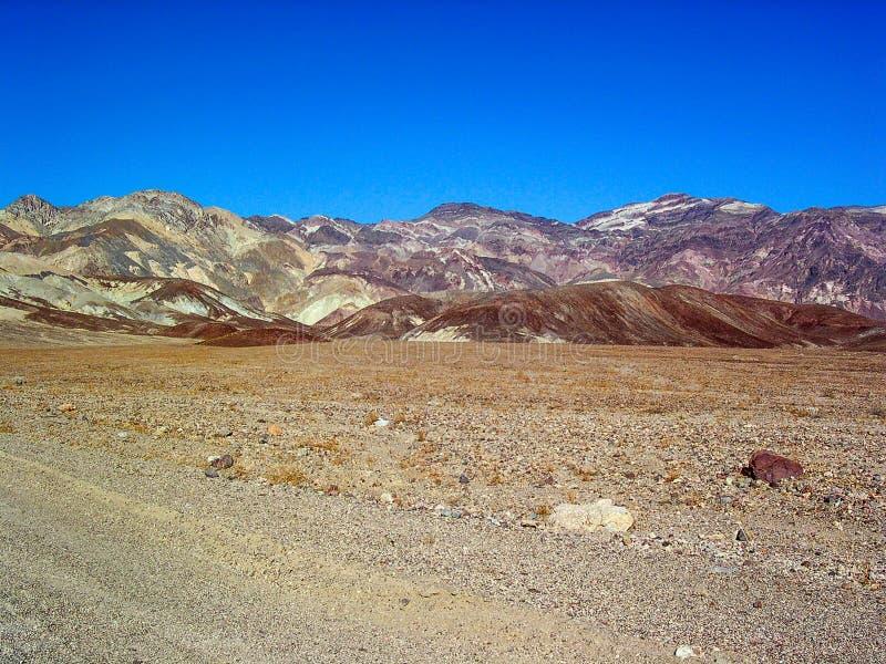 Палитра ` s художника в национальном парке Death Valley, Калифорнии, США стоковые изображения rf