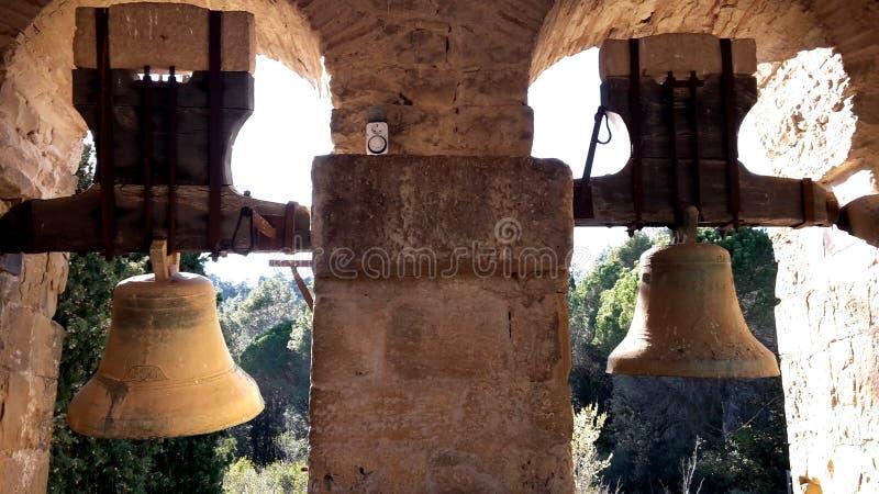 Паломники направляют в Catalunya стоковые изображения rf