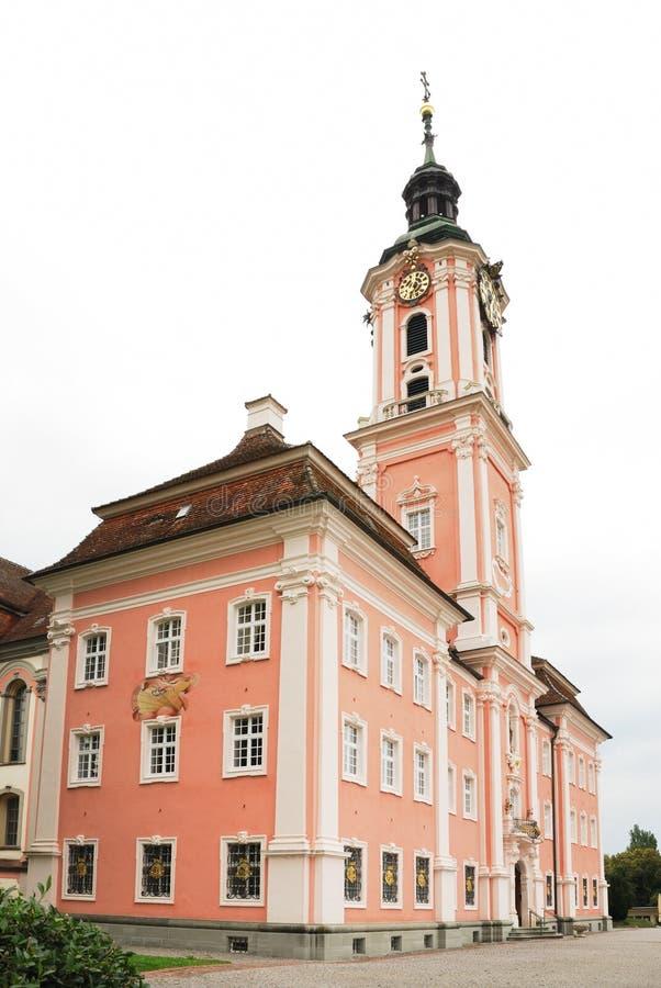 паломничество Германии церков birnau известное стоковое фото