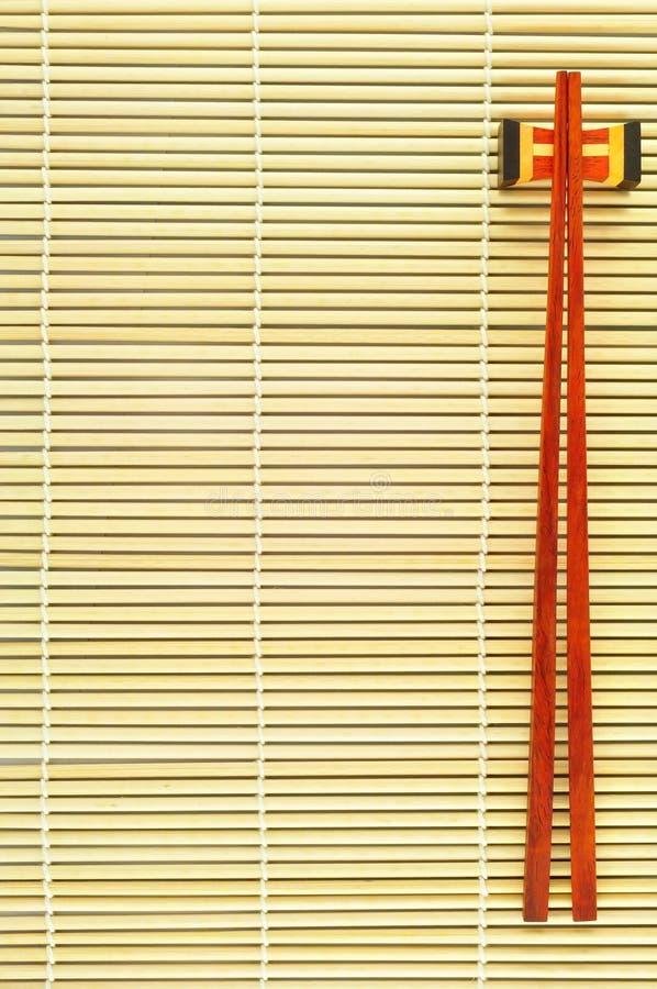 палочки бамбука предпосылки стоковое фото rf