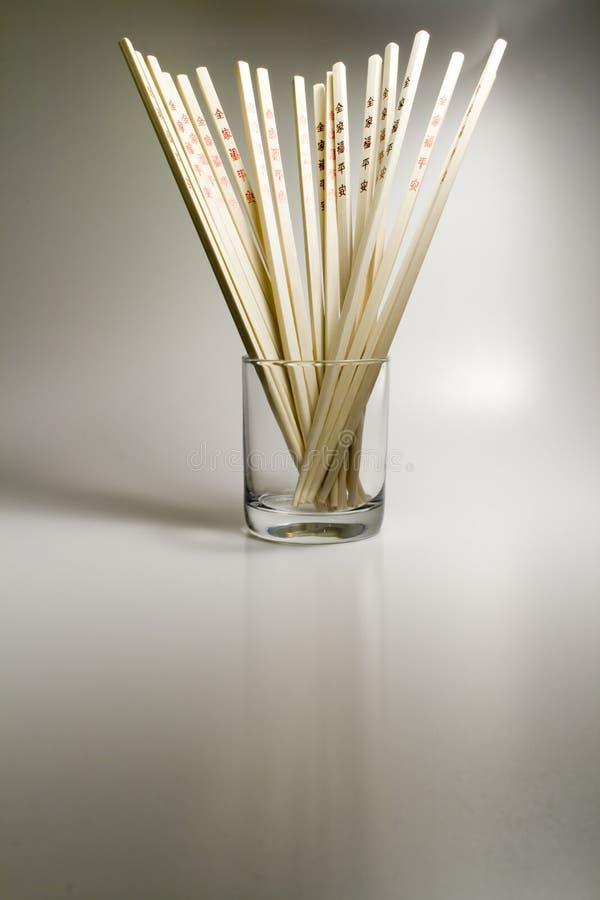 палочки стеклянные стоковые фотографии rf