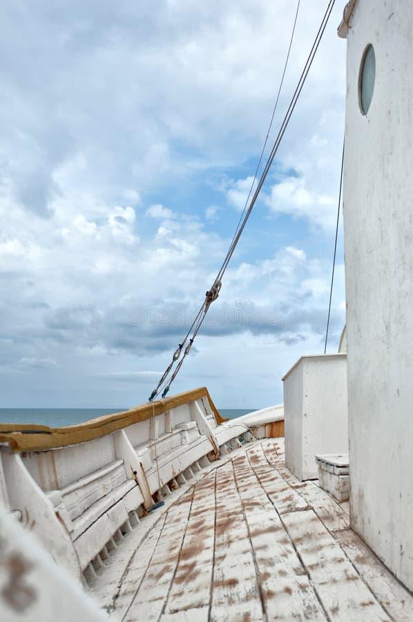 Палуба корабля стоковые фотографии rf