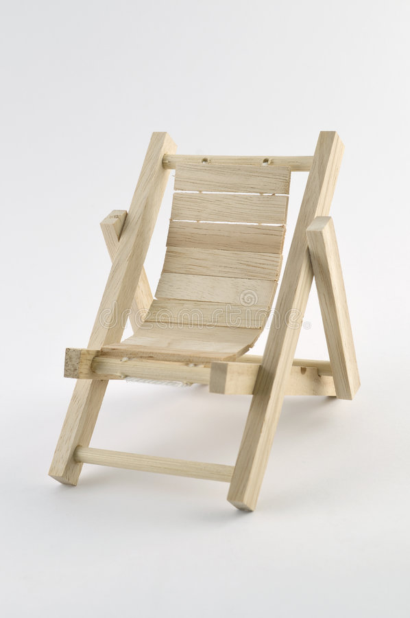 палуба стула стоковое фото