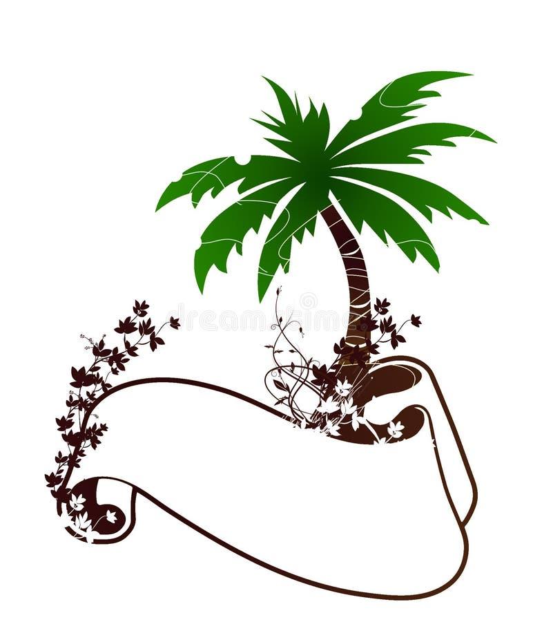 Download пальма иллюстрация штока. иллюстрации насчитывающей небо - 18382896