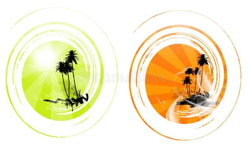 Download пальма иллюстрация штока. иллюстрации насчитывающей sunlight - 18383015