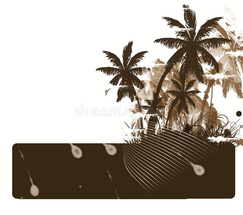 Download пальма иллюстрация штока. иллюстрации насчитывающей небо - 18383318