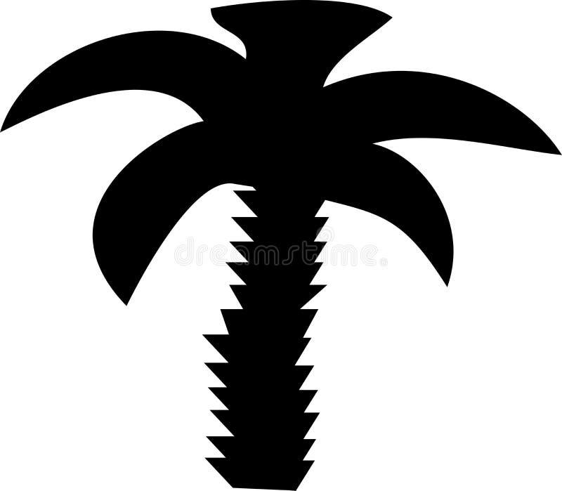 Download пальма иллюстрация штока. иллюстрации насчитывающей символ - 6863646