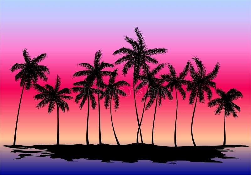 пальмы бесплатная иллюстрация