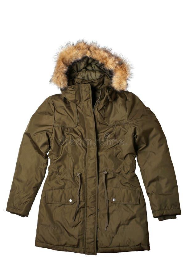 Пальто зимы женщины стоковые изображения