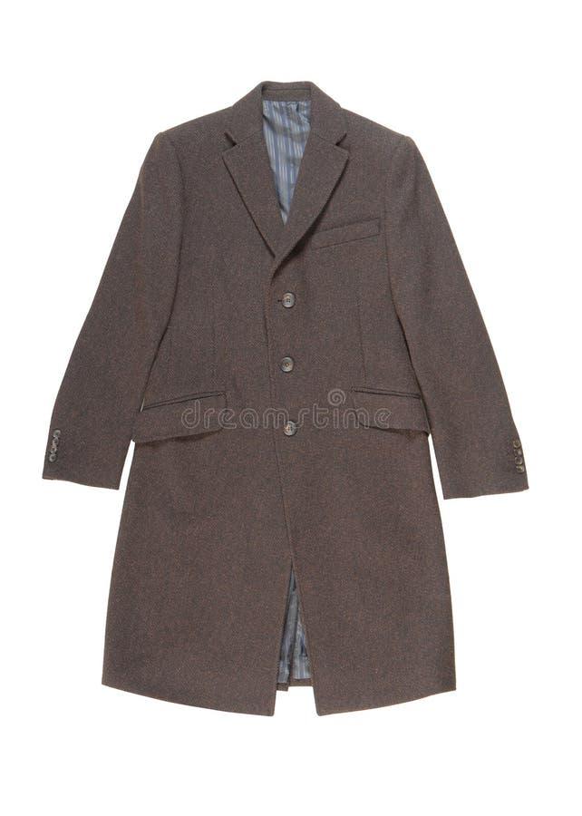 Пальто людей шерстяное. стоковое фото rf