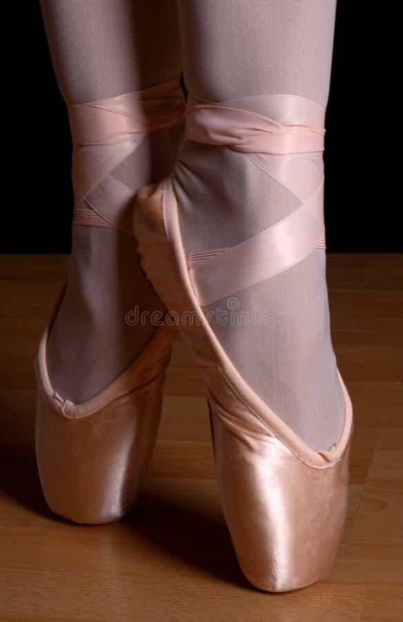 пальцы ноги балета стоковое фото
