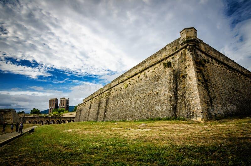 Памплона - столица Королевства Наварре, популярная испанская туристическая достопримечательность стоковые фотографии rf