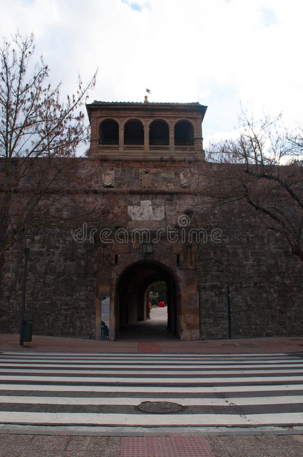 Памплона, Наварра, Баскония, Испания, Европа стоковые фото