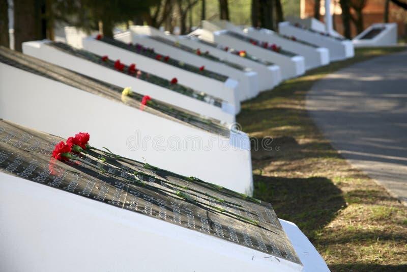 Памятная доска ветеранов войны стоковое фото