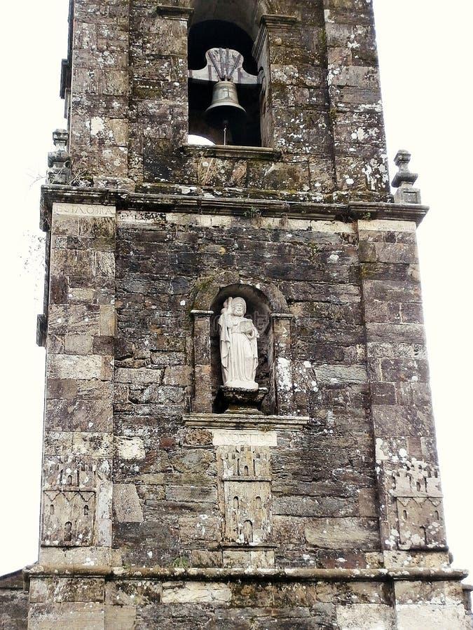 Памятники в пути St James В Галиции северо-западной Испании стоковые изображения rf