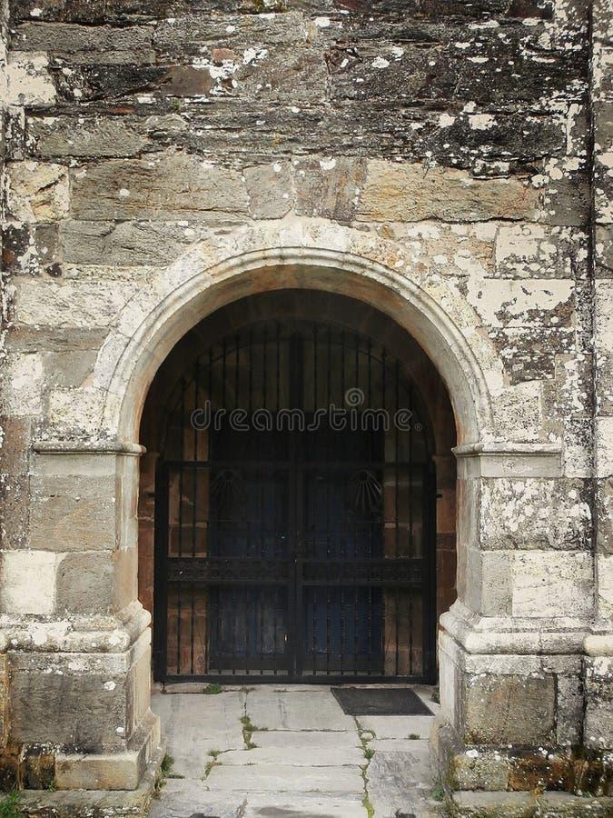Памятники в пути St James В Галиции северо-западной Испании стоковое изображение