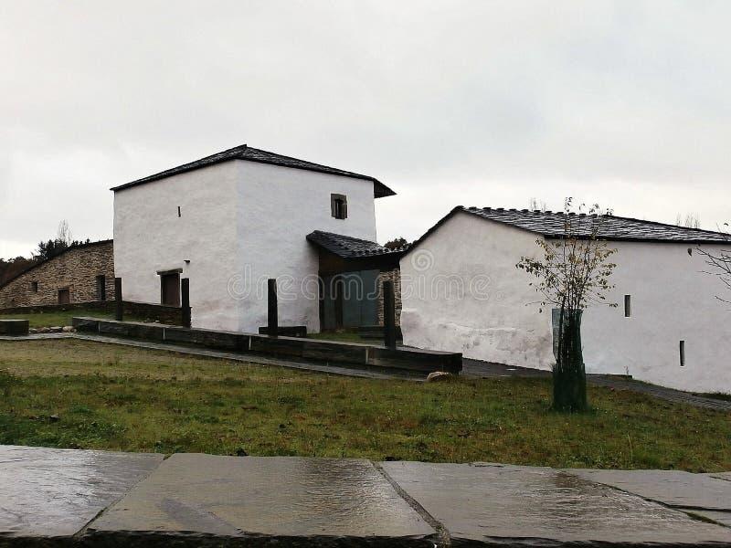 Памятники в пути St James В Галиции северо-западной Испании стоковые фотографии rf
