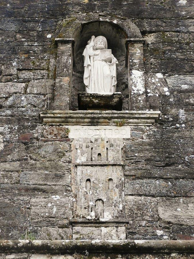 Памятники в пути St James В Галиции северо-западной Испании стоковое изображение rf