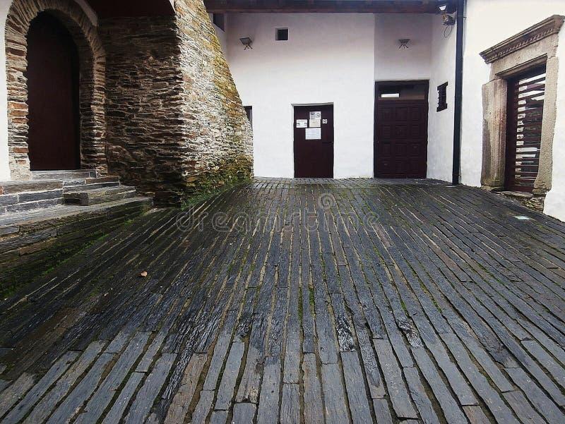 Памятники в пути St James В Галиции северо-западной Испании стоковая фотография