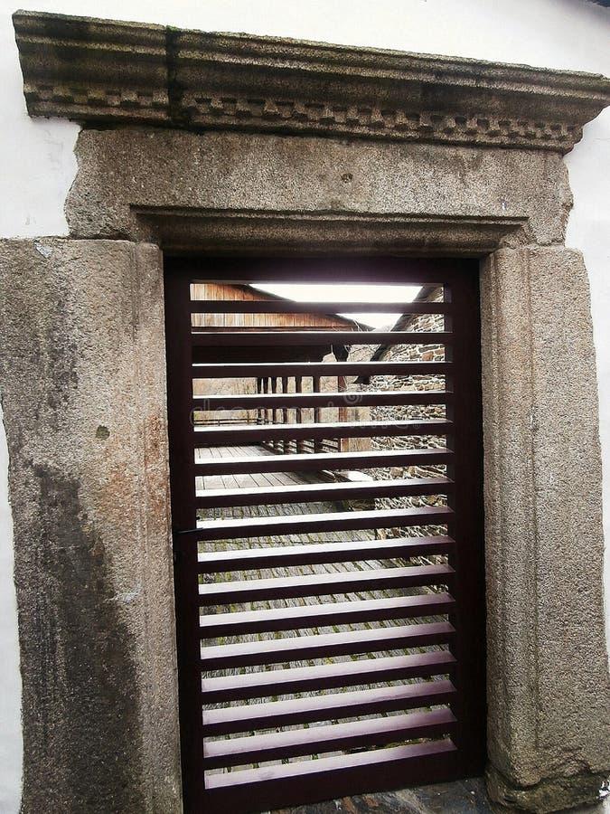 Памятники в пути St James В Галиции северо-западной Испании стоковые фото