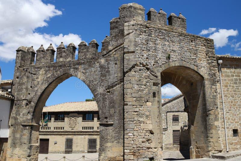 Памятники старины Baeza стоковое изображение
