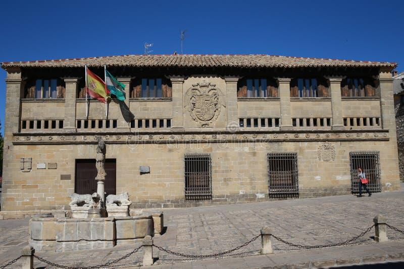 Памятники старины Baeza стоковое фото