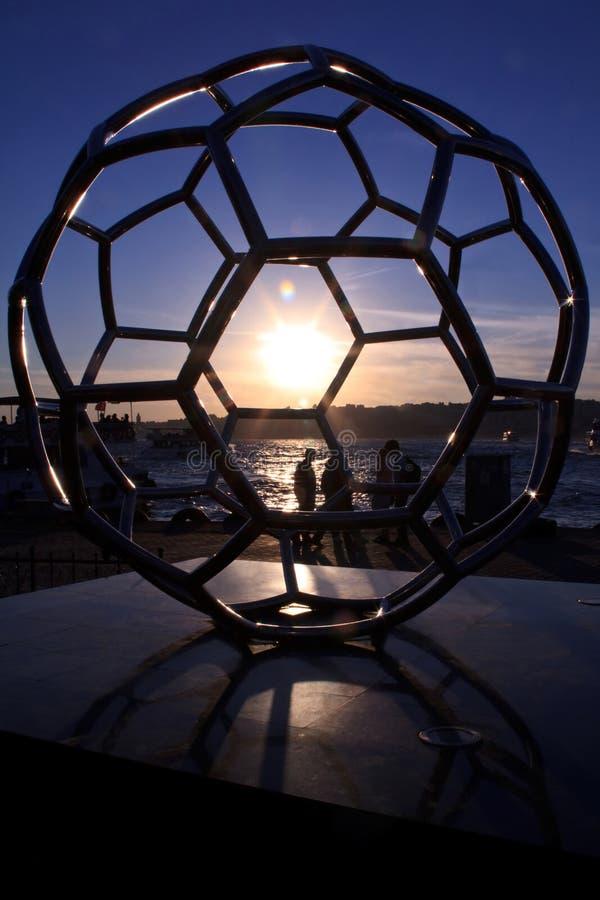 памятники футбола идеально турецкие стоковое фото