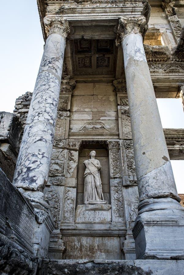 Памятники Ephesus, ландшафт Турции стоковое изображение